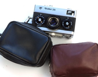 Evening Leather /& Clear Crystal Phone//Digital Camera Bag