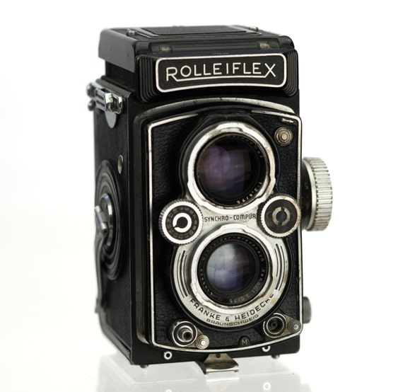 Rollei aljaba//leather case para Rolleiflex sl66 tele-Tessar 5,6//500mm