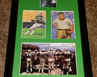 New York Jets Superbowl III Champs 11x17