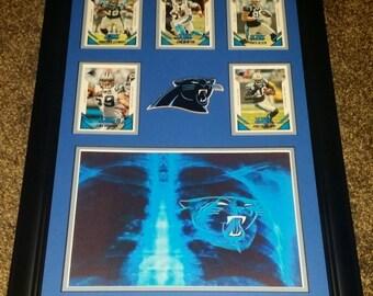 """Carolina Panthers 2015 """"Heart of a Panther"""" 11x17"""
