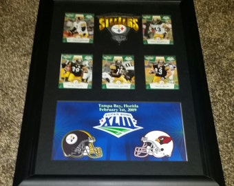 Pittsburgh Steelers Super Bowl XLIII Champions. 11x17