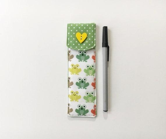 Kitty pen sleeve,Pen case,FREE cute pen,Fountain pen case,Pen pouch,Pen sleeve,Coworker gift ideas,Stocking stuffer,Gift for teacher