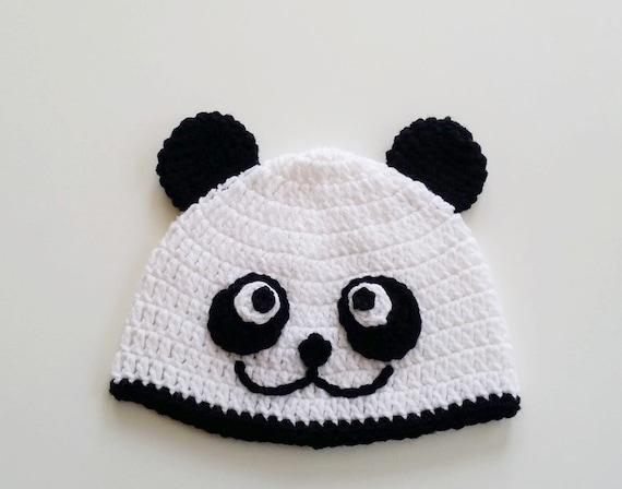 Häkeln Sie Panda Mütze Kleinkind Pandamütze Pandamütze Halloween Kostüm Hut Hut Kostüm Baby Panda Mütze Geschenk Für Kleinkind