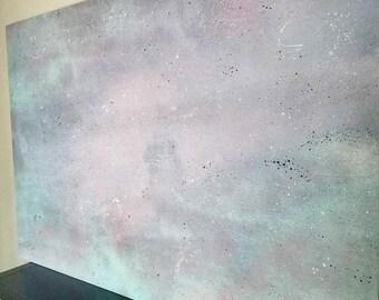 Abstract Space Wall Art - Original Abstract Art - Outer Space Art - Galaxy - Celestial Art - Hospitality Art - Hotel Decor - Corporate Art