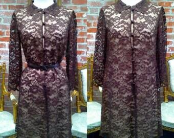 Vintage 1960's shift dress