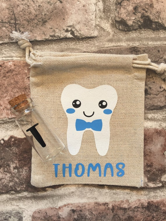 Tooth Fairy Pouch  Tooth Fairy Bag  Lost Tooth Bag