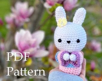 Crochet Pattern Amigurumi Usako the Wishing Bunny, Crochet Pattern Amigurumi Bunny, Crochet Pattern Amigurumi Rabbit, Bunny Plushie Pattern