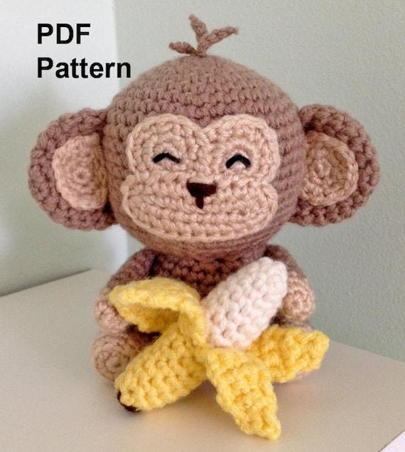 how to crochet a banana amigurumi- tutorial amigurumi in english ... | 635x570