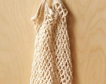 Handmade Crochet Market Bag