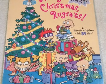 merry christmas rugrats a lift the flap book nickelodeon christmas - Rugrats Christmas
