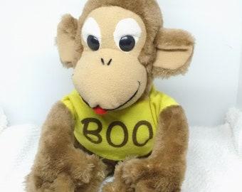 Dakin Plush Monkey Etsy