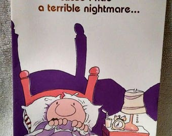 Vintage greeting card etsy ziggy halloween greeting card terrible nightmare m4hsunfo