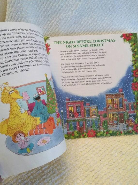 A Sesame Street Christmas Carol.A Sesame Street Christmas Ctw Jim Henson Muppet Christmas Stories
