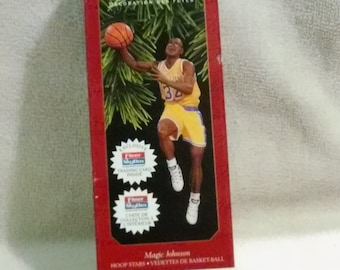 Hoop Stars Magic Johnson Keepsake Ornament