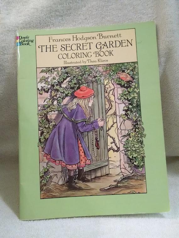 The Secret Garden Dover Coloring Book