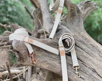 Organic Hemp Clip Lead with D Ring