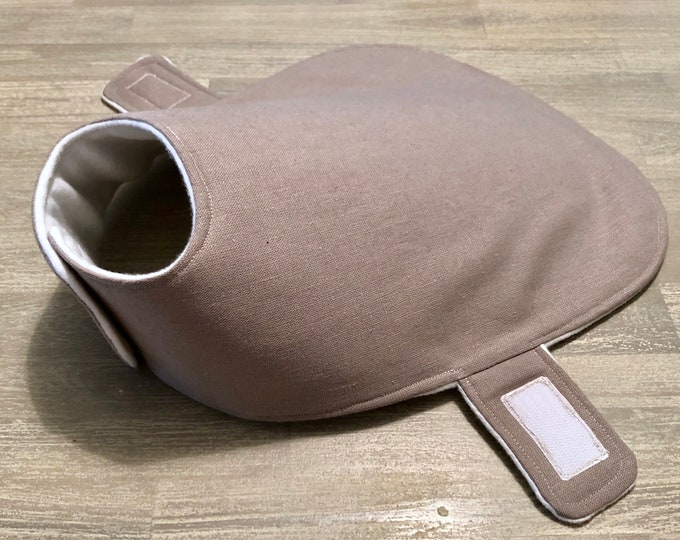 Hemp / Organic Cotton Blend Dog Jacket - Cobblestone - Made to Measure