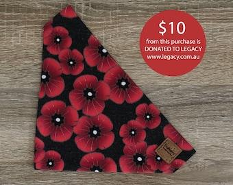 Red Poppy - ANZAC Bandana