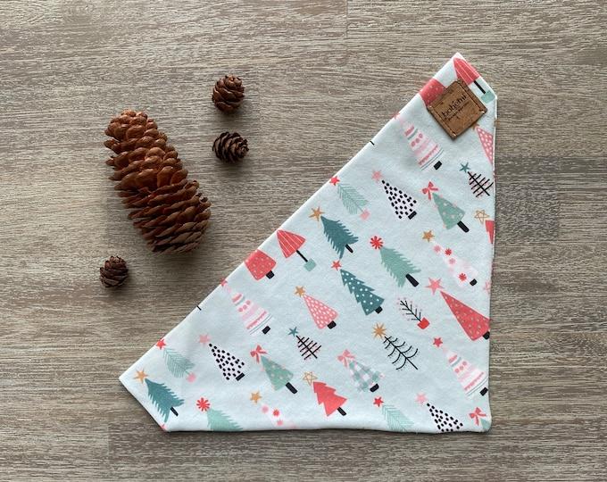 GOTS Organic Cotton Christmas Bandana - Oh Christmas Tree *LIMITED *