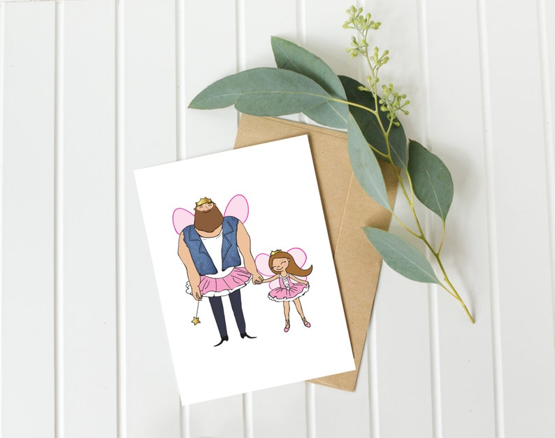 Dad Birthday Card Father Daughter Daddy Fathers Day Gift Ideas From