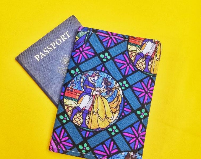 Beauty and the Beast passport cover