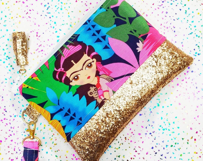 Frida mini clutch