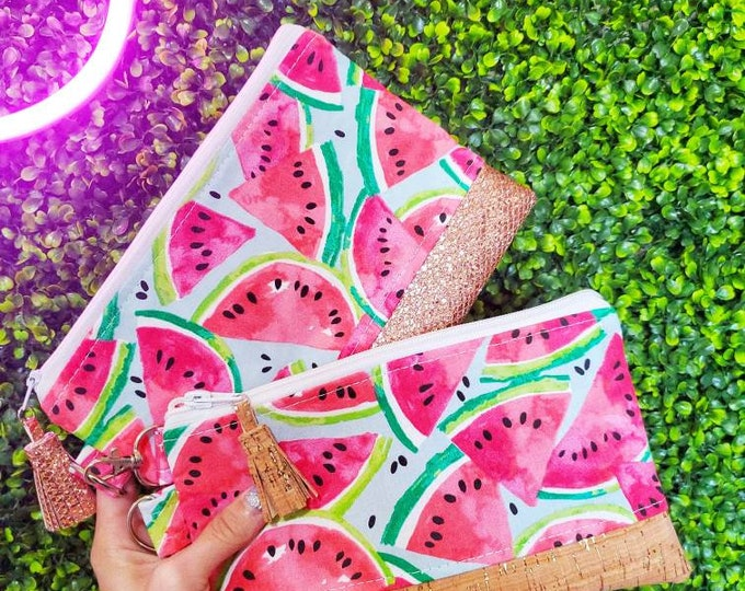 Featured listing image: Watermelon mini clutch