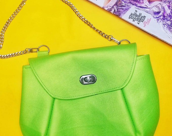 Lime Oriole bag