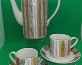 Midwinter Sienna part coffee set vintage 60s 70s pot cups and saucers