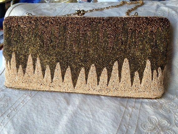 Beaded Evening Bags, Vintage Beaded Bags, beaded p