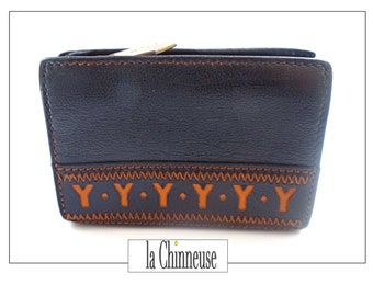 YSL WALLET; Vintage Porte Mint Yves Saint Laurent; 1980s; Collectible; For her; Made in France; French Designer; Chic Boho.