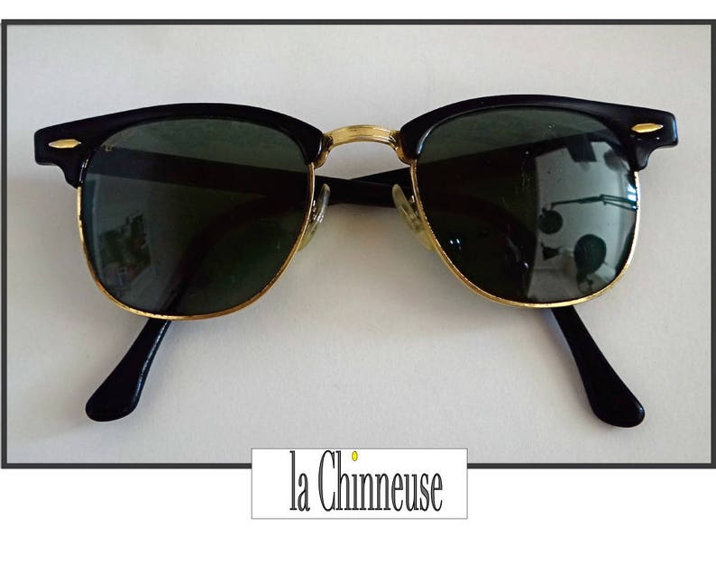 fc9e900f3c Vintage RAY BAN CLUBMASTER Bausch   Lomb   Vintage Ray Ban