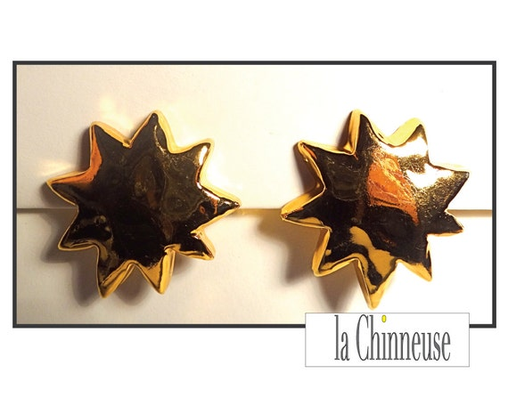 CHRISTIAN LACROIX EARRINGS / Earrings Clips Chris… - image 1