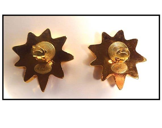 CHRISTIAN LACROIX EARRINGS / Earrings Clips Chris… - image 4