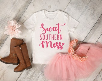 Sweet Southern mess infant and toddler tshirt