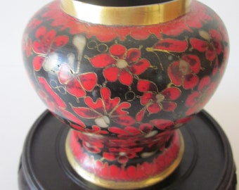 Chinese Cloisonne, Ginger Jar, Kuo Family of China