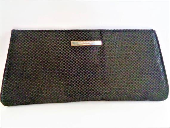 Giorgio ARMANI Clutch Bag Armani Parfums Bag Armani Perfume   Etsy dc21ae5364