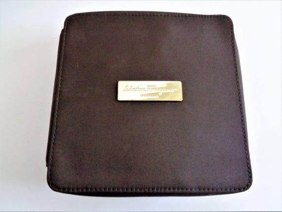 SALVATORE FERRAGAMO Parfums Make Up Cosmetic Case Salvatore  46bf8f86ca420