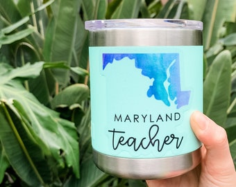 Maryland Teacher Sticker