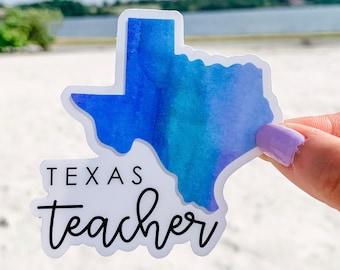 Texas Teacher Sticker