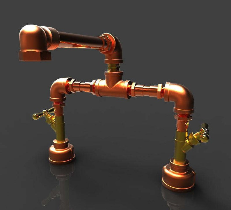 Pleasant Copper And Bronze Bathroom Faucet 8 Download Free Architecture Designs Intelgarnamadebymaigaardcom