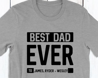 Star Best Dad In The Galaxy And Best Son T-shirts Set With Gold Text Clothing, Shoes & Accessories