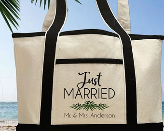9144a2e8fc68de Newlywed Honeymoon Tote Bag