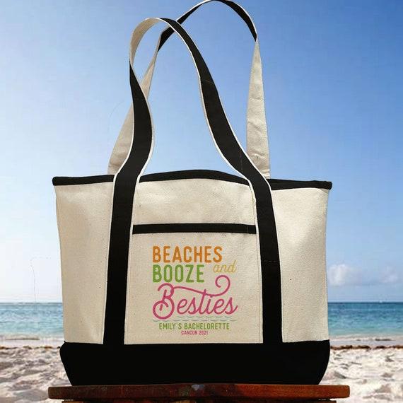 Beach bag Summer tote Vacation tote bag Bride Bag Beach Babe bag Summer bag Bachelorette bag Beach tote Bachelorette backpack
