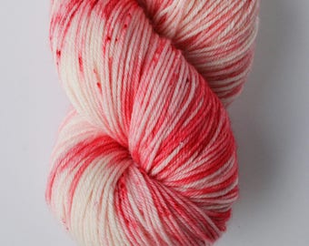 Peppermint Bomb - Dyed to Order Yarn - Hand Dyed Yarn - Sock Yarn - Choose Your Base