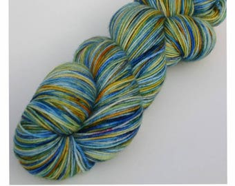 Starry Night - Dyed to Order Yarn - Hand Dyed Yarn - Sock Yarn - Choose Your Base