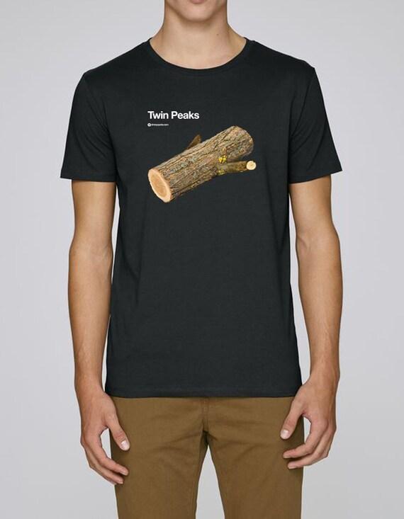 Twin Peaks tributo David Lynch film Cult tshirt maglietta  f0e203aaa43