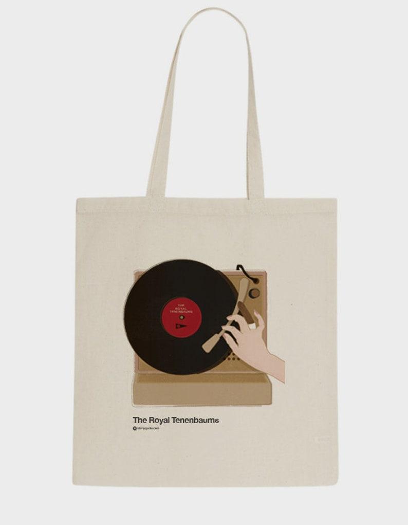 8f8752de58 The Royal Tenenbaums Tribute Wes Anderson Lovers Movie Cult Tote Bag  totebag cotton bag textil Graphic Design Minimalist Gift ...