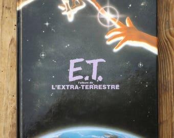 E.T. the extra-terrestrial 1982 Album / E.T. vintage french book / The Extra-Terrestrial Storybook published in New York in 1982