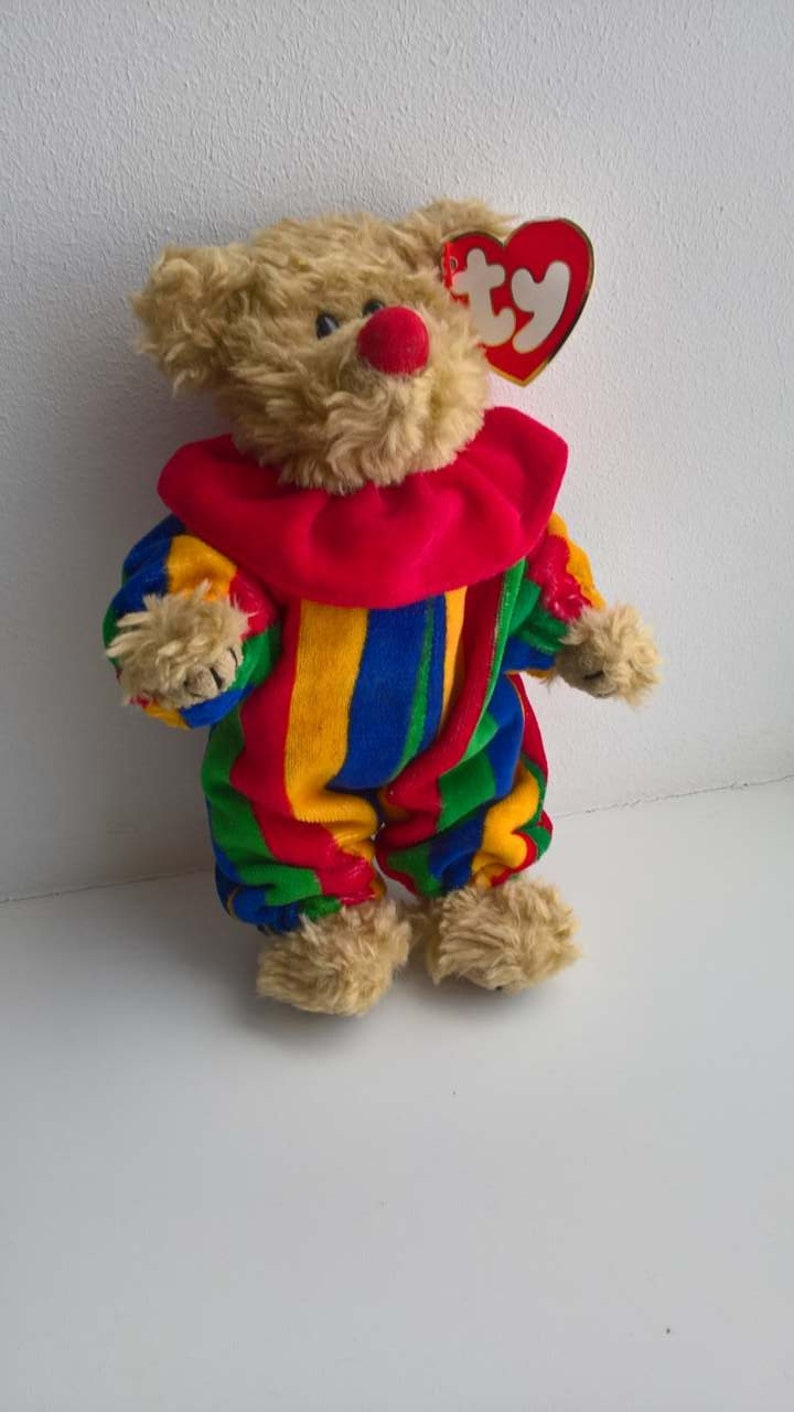 Piccadilly Ty Beanie Baby Ty Beanie Babies clown rare ty  e2cd167aeb